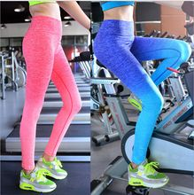 Leggings per le donne femminili sport abbigliamento pantaloni sottili legging pantaloni allenamento sport fitness ragazze bodybuilding e da corsa abbigliamento da palestra(China (Mainland))