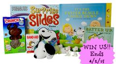 WIN a Peanuts Easter Prize Pack - Ends 4/2/15