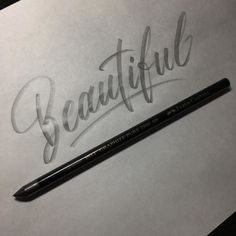 Thick and nice pencil