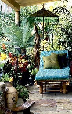 Great patio space for relaxing...sacred space