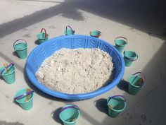 Mermaid Party game....kiddie pool filled with play sand, a mix of sea shells and under the sea jewels are hidden in the sand.  Buckets and shovels around the outside for each guest to dig for their tresures!