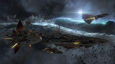 ArtStation - Endless Space 2 - Unfallen Spaceships - Amplitude Studios [ SEGA ], Hadrien Channac