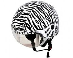 Capacete Plus Personalizado Zebra Kraft