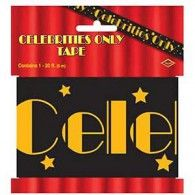 """''Celebrities Only"""" Party Tape $7.95 BE66108"""