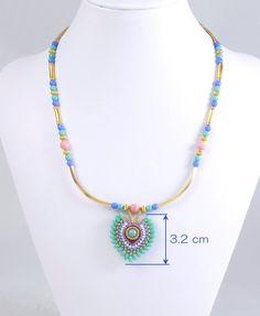 3f2090057f7e Las 20 mejores imágenes de Collar de color turquesa