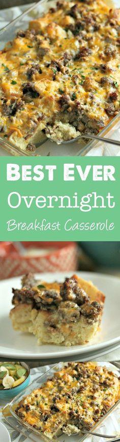 The Ultimate Overnight Breakfast Casserole