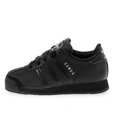0d77f04973c Adidas Samoa Child G21245 Black Athletic Little Kids Shoes Sneakers Youth  Sz 1 Adidas Originals