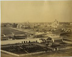 Samuel Bourne, Inde, View of Lucknow    #Asie_Asia #Inde_India