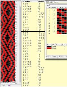 16 tarjetas, 2 colores, repite cada 34 movimientos // sed_211༺❁: