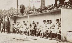 Dugout - 1903 Pittsburgh Pirates