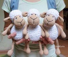 Amigurumi sheep plush toy pattern... FREE!
