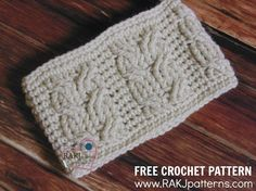 Crochet Embellished Hair Ties : ... is over crochet head band 11 1 kt crochet adult earwarmers headbands