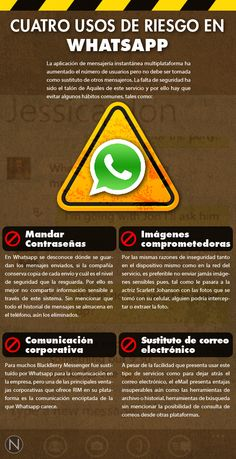 4 usos de riesgo para WhatsAPP #infografia #infographic Security Certificate, Safe Internet, M Learning, Website Security, Security Tips, Digital Marketing Strategy, Technology Gadgets, Kids Playing, Bullying