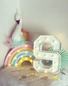 A rainbow with glamour lights... For a Star !    Julie F.pipon I - - - #kidsinteriors_com #kidsinteriors #kidsinterior #kidsroom #childrensroom #barnrum #kinderkamer #kinderzimmer #kidsdecor #kidslamps #lamps #kidsdesign #barnrum #barnrumsinspo #barnerom #decorforkids #instadecor #girlsroom #girlsdecor #chambrefille #chambreenfant #goodvibes #kidsinspo