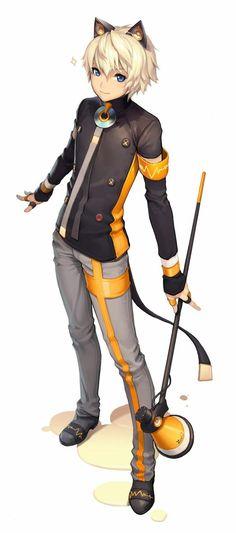 artist: kkuem --- description: the most beautiful anime style art i've ever seen --- warnings: immodest girls. Anime Neko, Anime Manga, Anime Guys, Gakupo Kamui, Mikuo, Character Base, Character Concept, Character Design, Hatsune Miku