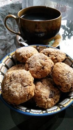 Vynikajúce zdravé sušienky Sweet Cookies, No Bake Cookies, Hungarian Recipes, Oatmeal Cookies, Food Festival, Diy Food, Food Ideas, Cookie Recipes, Food To Make