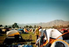 How to camp at Coachella like a pro - info really applies to most outdoor camping festivals