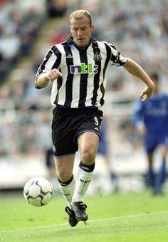 Alan Shearer - ha, I have those shorts-Go Newcastle United!