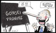 "Christopher ""Pyneocchio"" Pyne - fast headed towards political oblivion.  #auspol #christopherpyne #gonski"