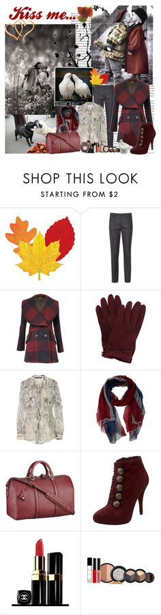 """Kiss me..."" by ladaluna ❤ liked on Polyvore featuring Jil Sander, Vivienne Westwood Anglomania, Miu Miu, Roberto Cavalli, Faliero Sarti, Louis Vuitton, GUESS, Chanel and Smashbox"
