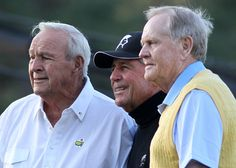 Mt Rushmore of golf: Palmer, Player, Nicklaus at 2012 Masters tournament