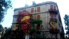 Prédio abandonado, Picoas, Lisboa, colors, desenhos, art, streets