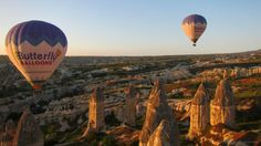 This Should Be On Your Bucket List: A Hot Air Balloon Ride Over The Cave Houses Of Cappadocia