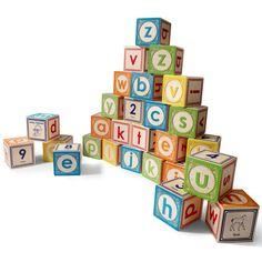 Classic Lowercase ABC Blocks