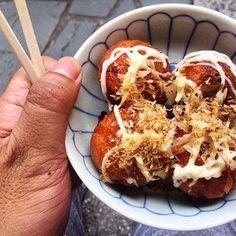 Authentic Takoyaki – Tokyo, Japan.   30 Glorious Street Foods From Around The World That..., ,
