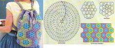 21 Bolsas Magníficas en Crochet con los diagramas