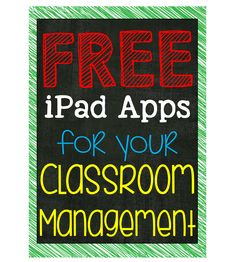 Awesome suggestions from a teacher on free iPad apps that can help with classroom management. Includes a timer, random student selector, team selector, noise management, and more. Apps For Teachers, Teacher Resources, Teacher Apps, Teaching Technology, Educational Technology, School Classroom, Classroom Ideas, Classroom App, Classroom Timer