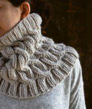 Cozy Cable Cowl   Purl Soho