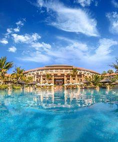 No Monday blues here. Dubai Resorts, Dubai Hotel, Hotels And Resorts, Palm Resort, Resort Spa, Sofitel Hotel, Timber Pergola, Beach Cabana, Palm Jumeirah