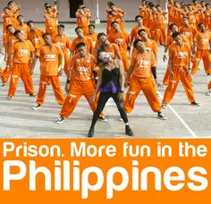 Thrilla in Cebu! The now-famous Cebu Dancing Inmates