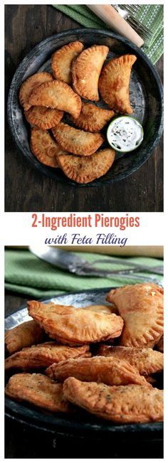 You will only need Flour and Sour Cream to make these delicious Pierogies, then stuff them with your favorite filling!