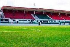 Estádio Ulrico Mursa - Santos (SP) - Capacidade: 16,9 mil - Clube: Portuguesa Santista