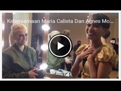 Kebersamaan Maria Calista Dan Agnes Mo Di Belakang Panggung  Gosip 28 No...