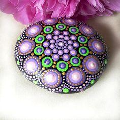 Purple Dot Mandala - free postage within USA