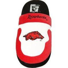 ComfyFeet Arkansas Razorbacks Slip On Slippers