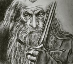 gandalf the gray coloring pages - photo#32