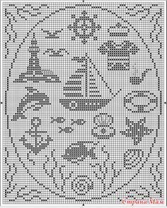 Cross Stitch Sea, Cross Stitch Samplers, Cross Stitch Charts, Cross Stitch Embroidery, Funny Cross Stitch Patterns, Cross Stitch Designs, Nautical Crochet, Cross Stitch Silhouette, Chicken Scratch Embroidery