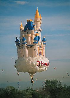 Disney hot air Balloon...this is AWESOME.