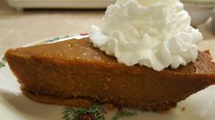 Vegan Pumpkin Pie with Graham Cracker Crust