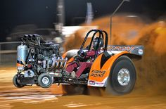 """The """"Firing Point"""" Modified Mini pulling tractor"""
