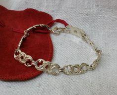 Altes Silberarmband 50/60 Jahre 835 SA212 von Schmuckbaron auf Etsy