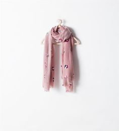 FLORAL NECKERCHIEF-Hats, scarves and gloves-Accessories-Girl (3-14 years)-KIDS | ZARA United States