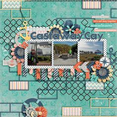 Template:  Meagan's Creations - Urban Templates Vol 1 Kit:  Digital Scrapbook Ingredients - Anchors Away
