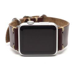Apple Watch Strap: Horween Leather Watch Band by E3 Supply Co.