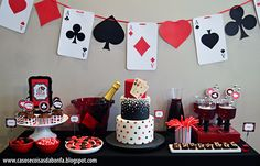 Casino Theme Parties for the Dallas. Posts about Casino Theme Parties for the Dallas- Fort Worth area written by Casino parties and More event ideas! Casino Party Decorations, Casino Theme Parties, Party Centerpieces, Birthday Parties, Magic Decorations, Casino Royale Theme, Vegas Birthday, Magic Birthday, 21st Party