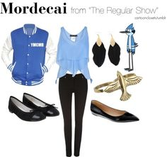 Mordecai from the Regular Show
